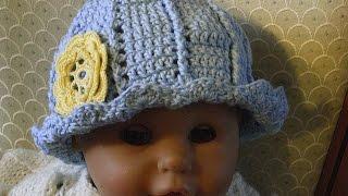 Babymütze Häkeln 0 6 Monate Mit Schleifenoptik