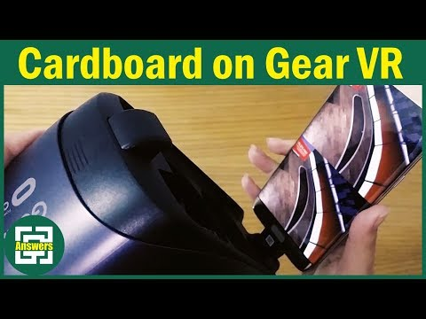 How to Run Google Cardboard applications on Samsung Gear VR [The easiest way]