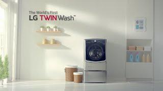 LG TWINWash™ Washing Machine : Product Film