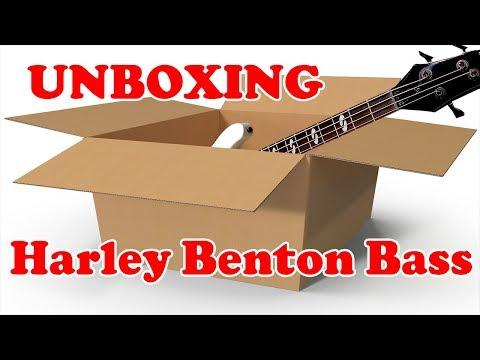 Unboxing Harley Benton (B-450 Vintage)