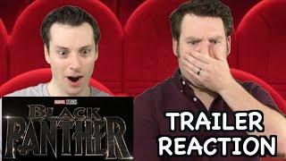 Black Panther - Teaser Trailer Reaction