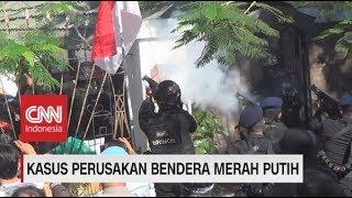 Menegangkan! Penangkapan 43 Penghuni Asrama Papua Terkait Perusakan Bendera Merah Putih