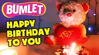 """Happy Birthday To You"" A Happy Birthday Nursery Rhyme | Bumlet  (3 Mins)"