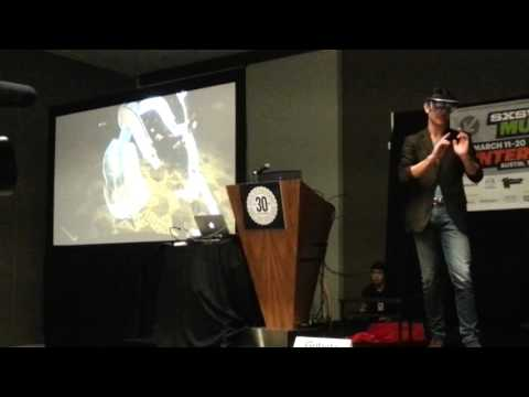 Meta 3D holographic interface live.demo