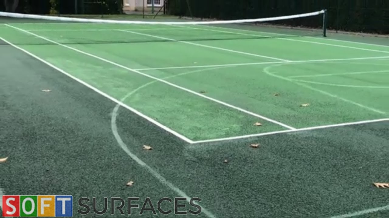 Residential Tennis Court Clean & Paint in Coventry, West Midlands | Clean & Paint Job