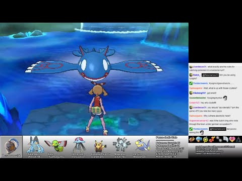 Pokemon Alpha Sapphire: Part 34 (Catching Primal Kyogre)