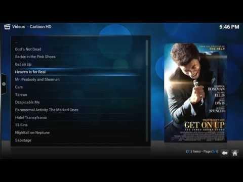 Cartoon HD Addon Review Kodi/Xbmc