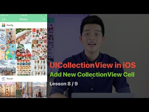 UICollectionView Pt 8: ADD NEW CELL TO UICOLLECTIONVIEW WITH ANIMATION