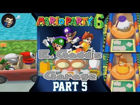 Mario Party 6 | E. Gadd's Garage - Part 5/7