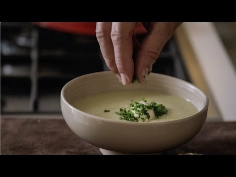 Leek & Potato Soup (Soupe Vichyssoise)