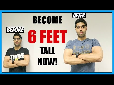 How To Grow TALLER & Increase Your HEIGHT | GROW 2 - 4 INCHES NOW!