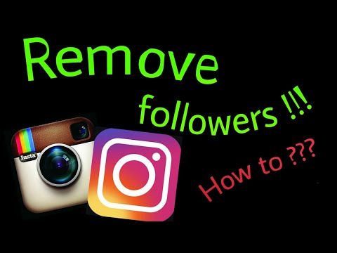 How to Remove followers on Instagram |2017|