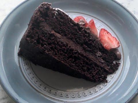 Chocolate Fudge Cake - Dairy Free, Gluten Free, Chocolate Cake