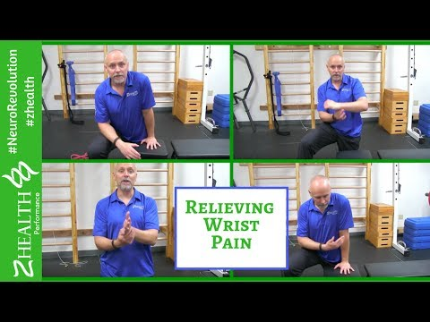 Relieving Wrist Pain