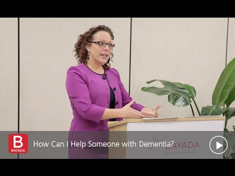 How Can You Help Someone with Dementia
