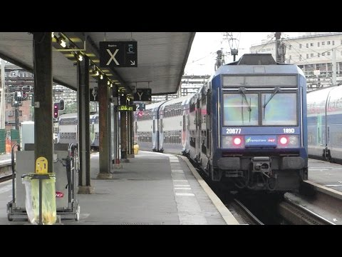 [Paris] Z20500 RER D - Gare de Lyon surface (ZACO)