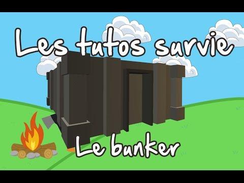 Unturned FR tuto survie : Bunker - Le début de la Forteresse