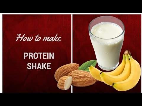 How to  Make a protein shake without protein powder!?