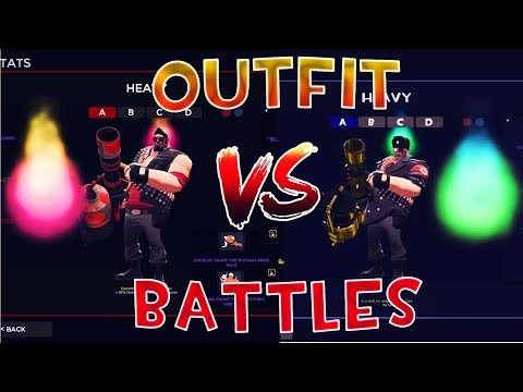 PURPLE ENERGY VS GREEN ENERGY! - TF2 Outfit Battles #6