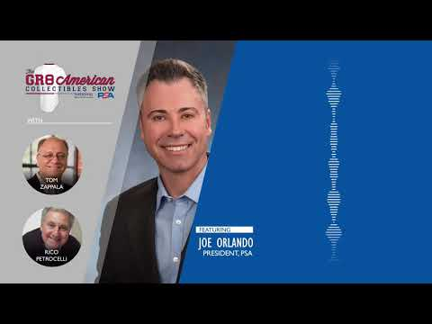 AUDIO: Joe Orlando on 'Buying the Card, Not the Holder' on the Great American Collectibles Show