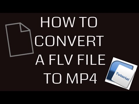 FLV to MP4 CONVERSION TUTORIAL NO DOWNLOADS FREE!!! 2017