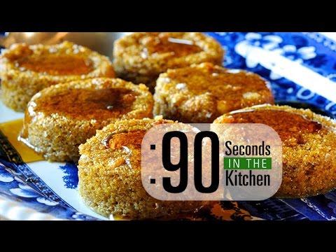 90 Second Sweet Potato Souffle