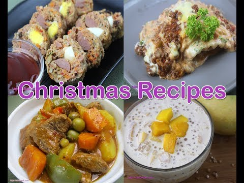 Top 10 FILIPINO FOODS for New Year's Eve! (Media Noche)