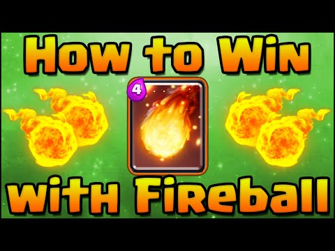 Clash Royale - How to Win with Fireball! Guide, Strategy, Tips, and Tricks with the Fireball Spell