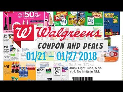 Walgreens Coupon Deals January 21   27, 2018