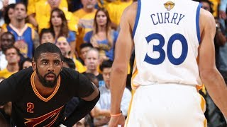 NBA Finals 2017: Stephen Curry vs. Kyrie Irving Full Duel