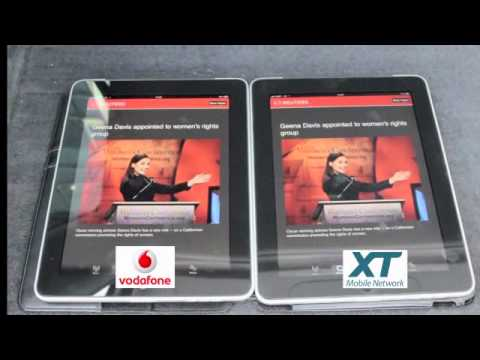 Using the iPad 3G on Vodafone NZ and XT