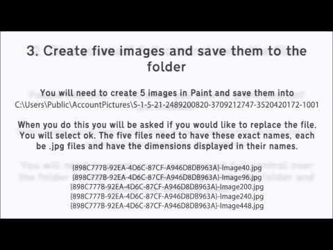 Windows 8.1 User Account Picture PC Setting Error - Solution