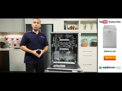 Smeg Dishwasher DWA214S review by the Appliances Online team