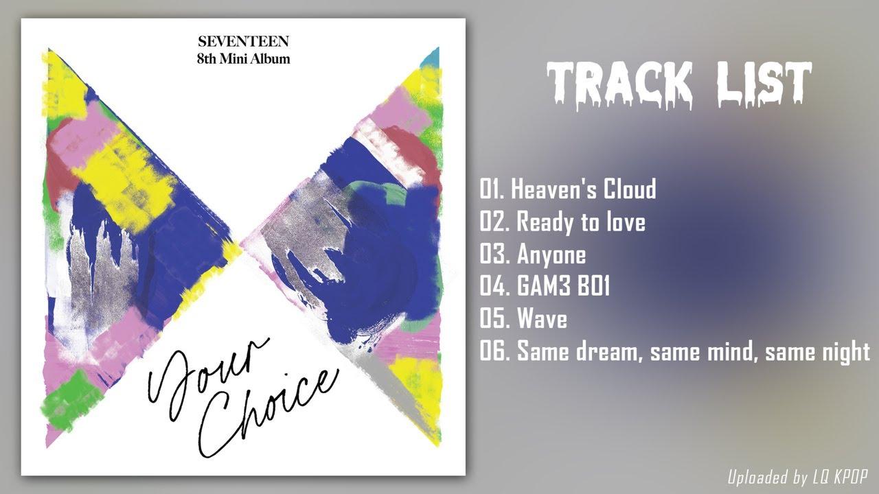 Download [Full Album] S E V E N T E E N (세븐틴) - Your Choice | 앨범 전곡듣기 MP3 Gratis