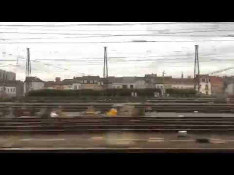 London to Brussels in 8 minutes on the Eurostar