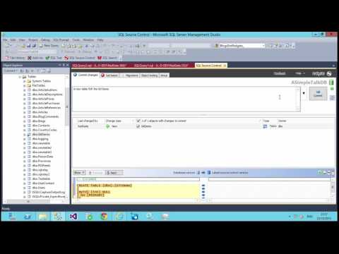How to push database changes to a Git remote repository in SQL Server Management Studio