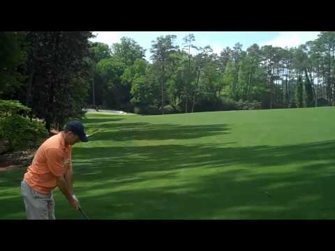 Day 1 Augusta National  13, (2nd shot 232 onto Green; 25 fee