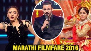 Marathi Filmfare | Vivek Oberoi Recites Marathi Poem | Dance Performances by Amruta, Mrunmayee