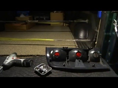 60W Back-up and Tail LED Light Part 6 of 7
