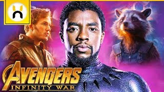 How Black Panther Reacts to Guardians of the Galaxy in Avengers Infinity War