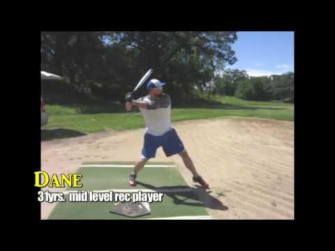 Softball Hitting: Quick Wrists improve Dane's Swing SM#58