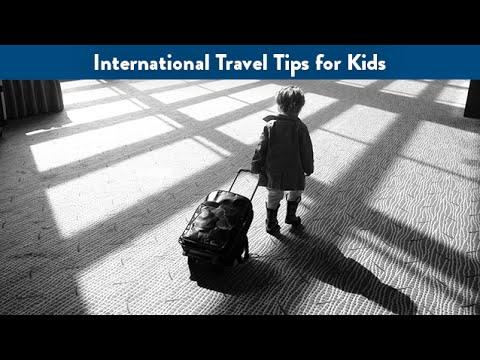 International Travel Tips for Kids | CloudMom