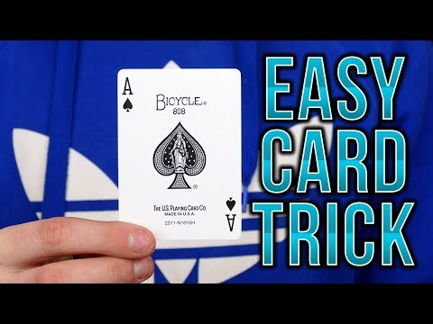 EASY CARD TRICK for BEGINNERS - Tutorial