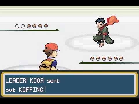Pokemon Leaf Green - Koga