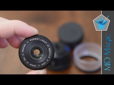 Get Close up with the Moment Macro Lens for iPhone & Smartphones