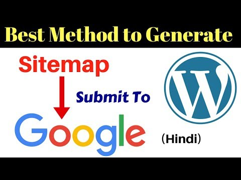 Easy Method to Generate Sitemap and Submit to Google [Hindi]