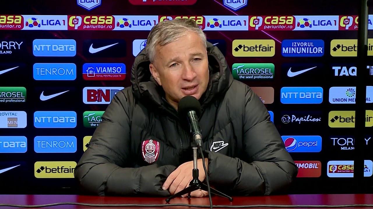Conferință de Presă - Dan Petrescu - CFR Cluj - UTA Arad (0-1) - Etapa 11