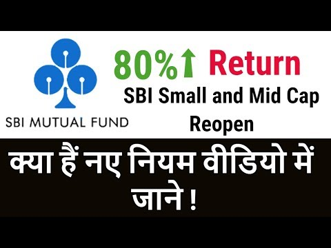 Big Update For SBI Mutual Funds Investors | SBI Small & Mid Cap Will Reopen | Full Detail in Hindi