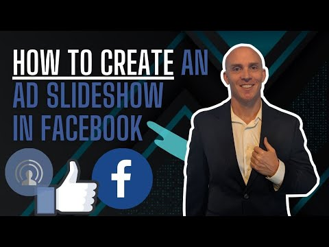 How to Create a Ad slideshow in facebook - Facebook Marketing