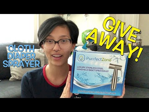 PurrfectZone Cloth Diaper Sprayer || Review + GIVEAWAY! [CLOSED]